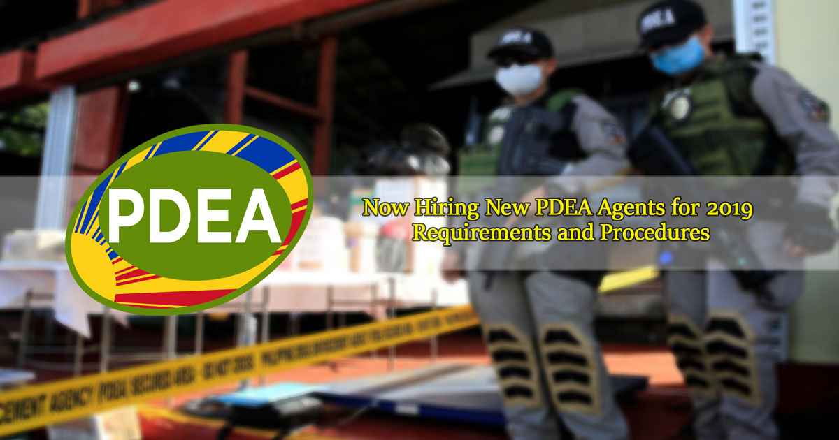 Now-Hiring-New-PDEA-Agents-for-2019-Requirements-and-Procedures