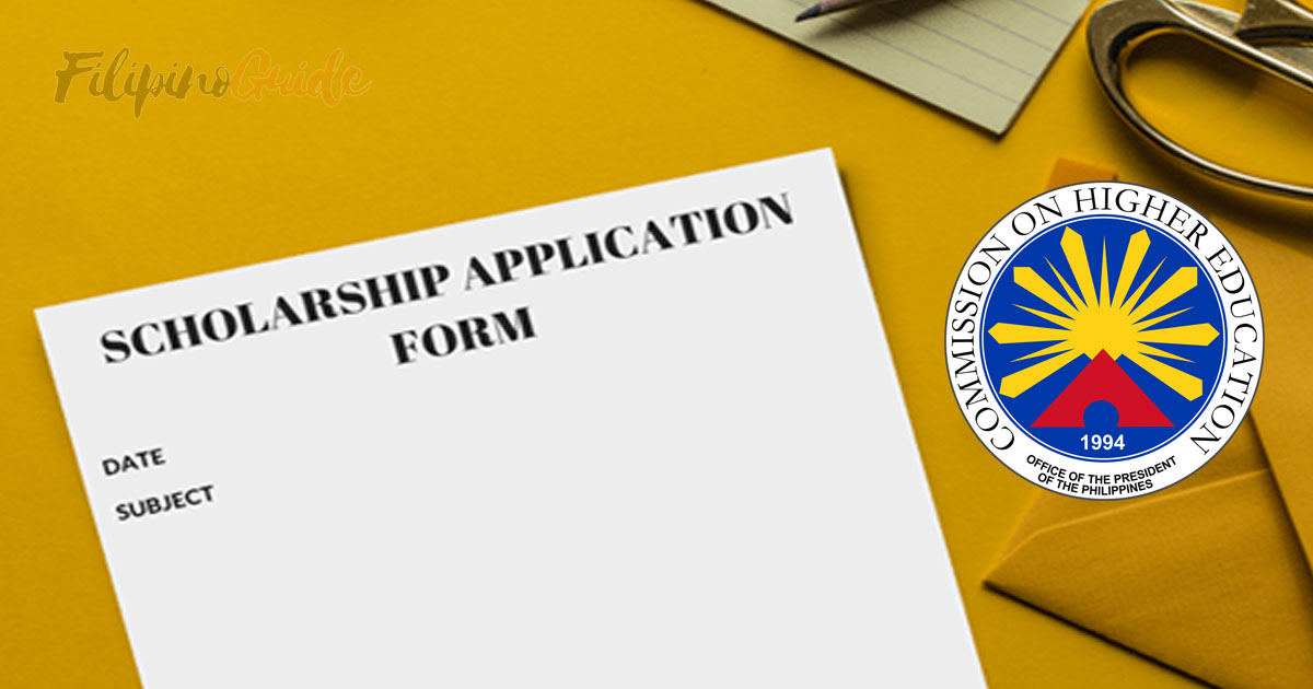 Application for CHED Scholarship this SY 2019-2020 Is Now Open