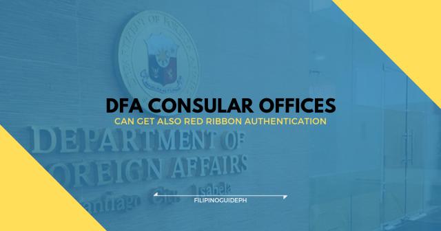 DFA CONSULAR OFFICES