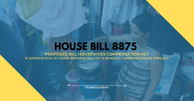 House Bill 8875 or Housewives Compensation Act