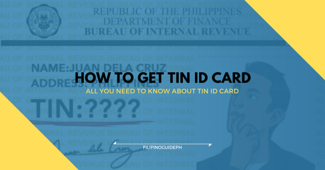 How to Get TIN ID Card