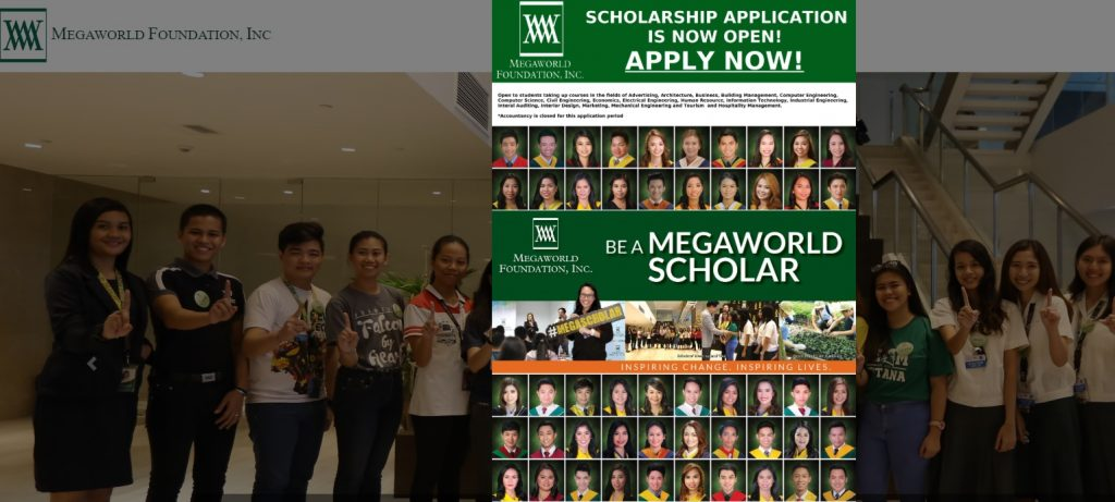 Megaworld Foundation Scholarship Application Process and Requirements