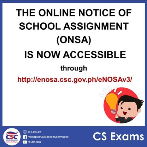 Online Notice of School Assignment (ONSA)