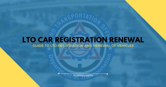 LTO CAR REGISTRATION RENEWAL