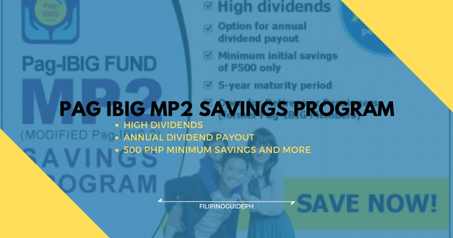 PAG IBIG MP2 PROGRAM