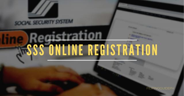 Guide for SSS Online Registration