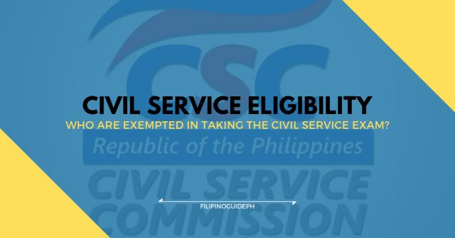 civil service eligibility