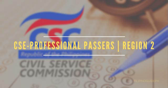 CSE-PROFESSIONAL PASSERS _ REGION 2