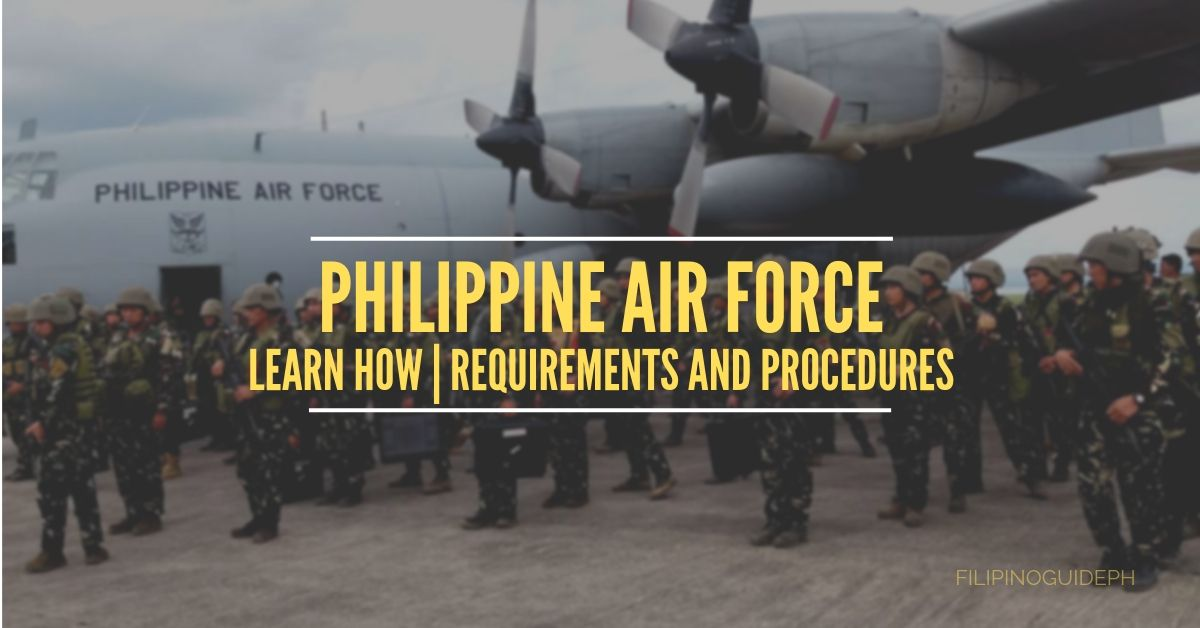 Requirements and Procedures on How to Join the Philippine