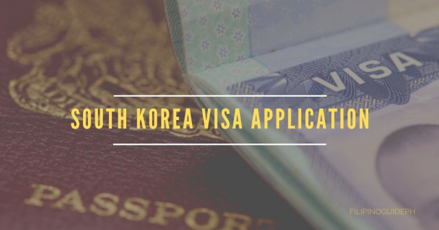 south korea visa application 0