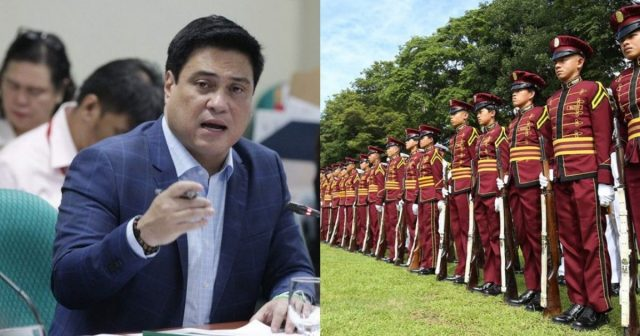 Senator Miguel Zubiri wants to remove the Height Requirement in BFP, BJMP, and PNP
